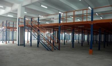 阁楼式货架的结构与安装方法