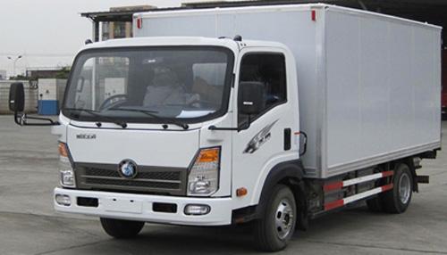 王牌再创佳绩 新能源厢式物流车获订单高清图片