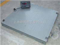 2t雙層地磅秤,帶引坡電子地磅,上海電子磅秤質量